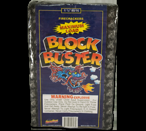 Blockbuster Firecrackers 80/16