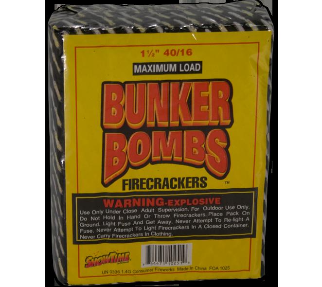 Bunker Bombs 40/16