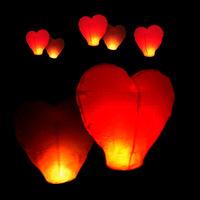 Heart Sky Lanterns