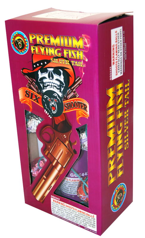 Six Shooter Flying Fish