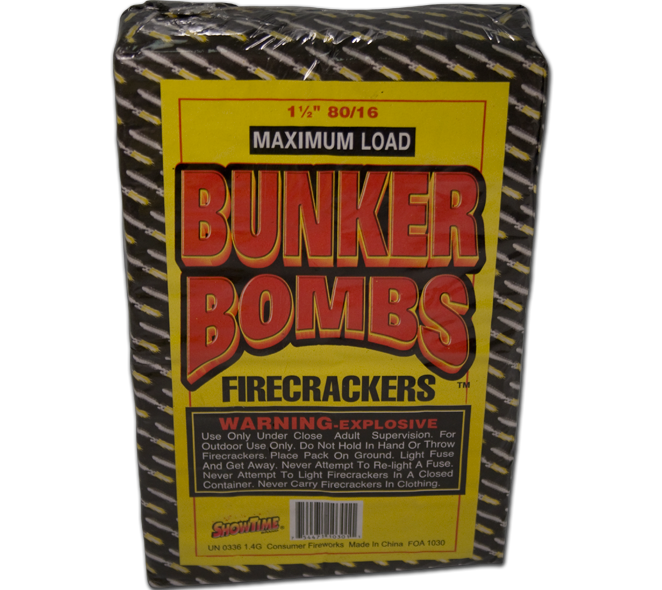 Bunker Bombs 80/16